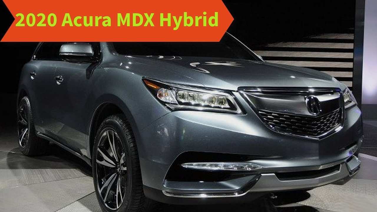 54 The Acura Mdx Changes For 2020 Performance And New Engine