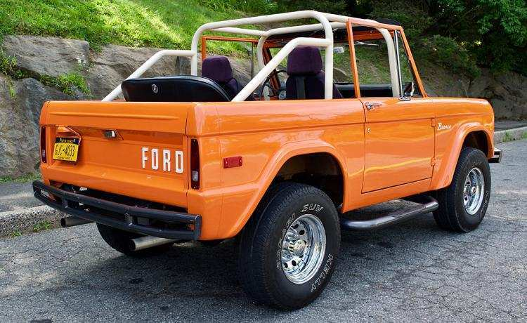 55 A 2020 Orange Ford Bronco Price And Release Date