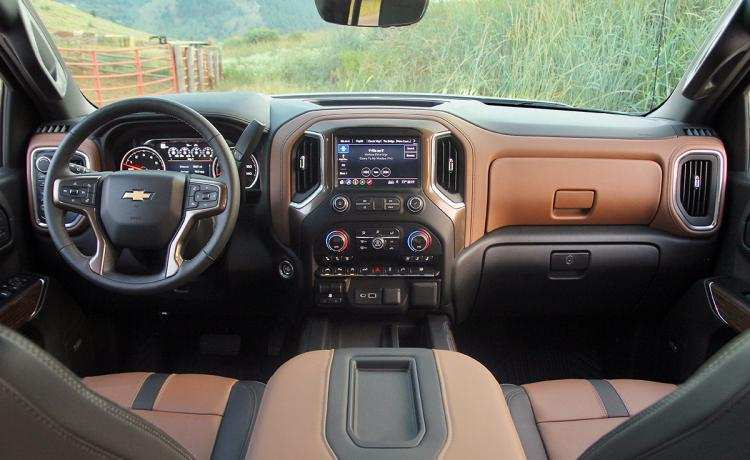 55 The 2019 Chevrolet High Country Interior New Concept