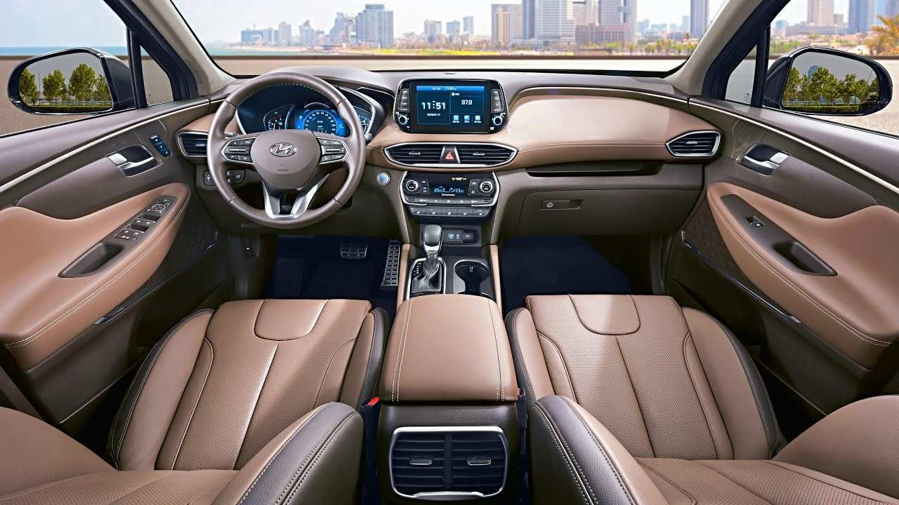 55 The Best 2019 Hyundai Santa Fe Interior Review And Release Date