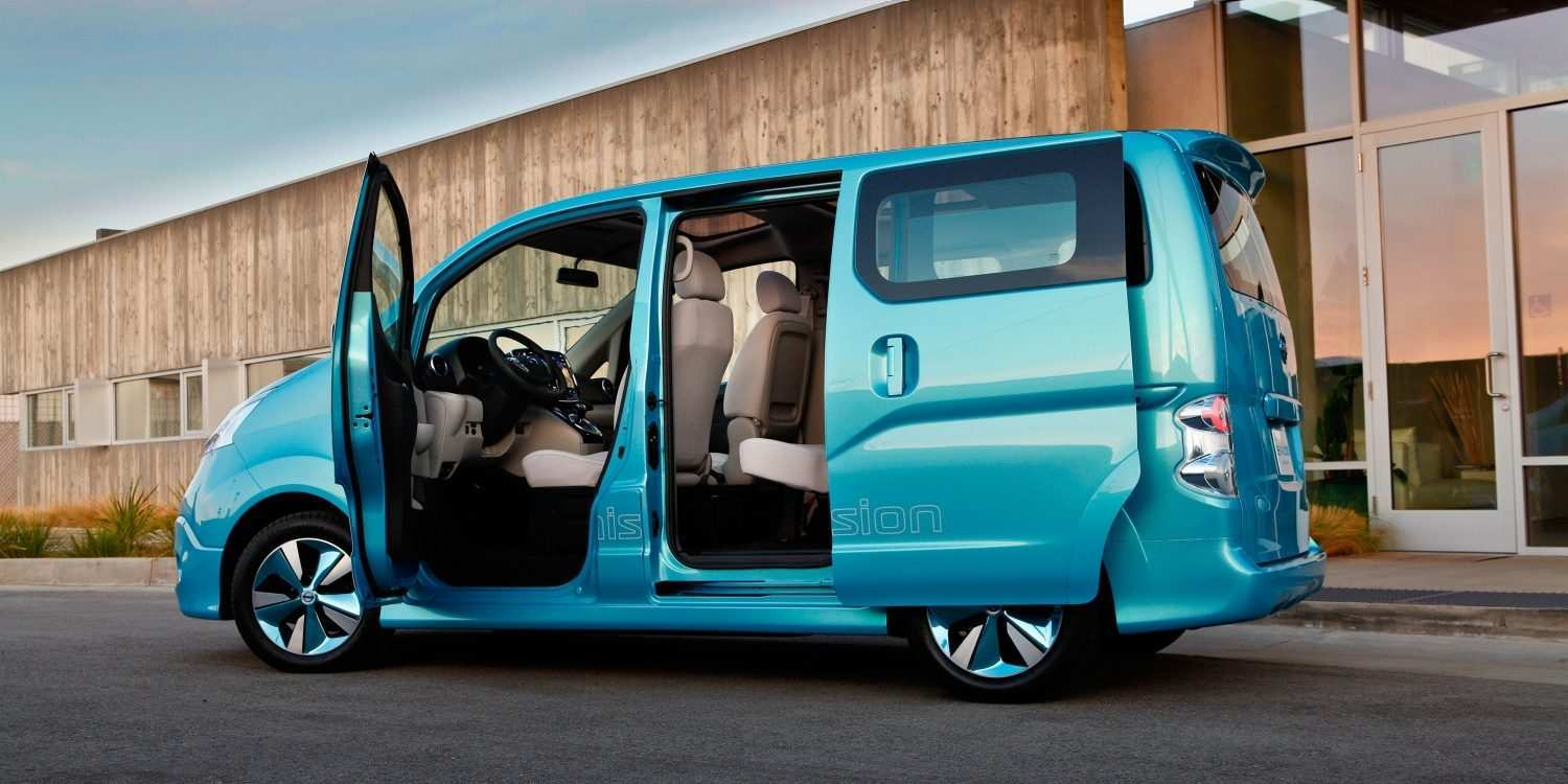 55 The Nissan E Nv200 Evalia 2020 Release Date And Concept
