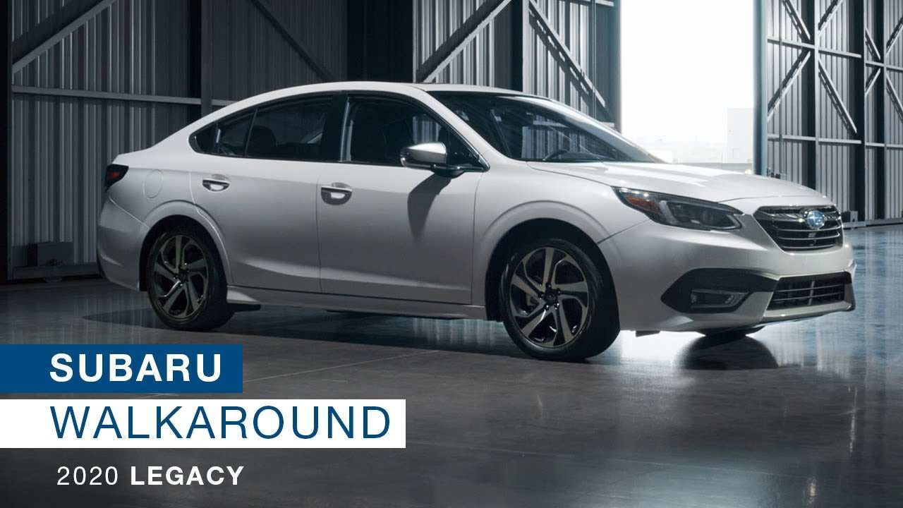 56 The Best Subaru New Legacy 2020 Redesign
