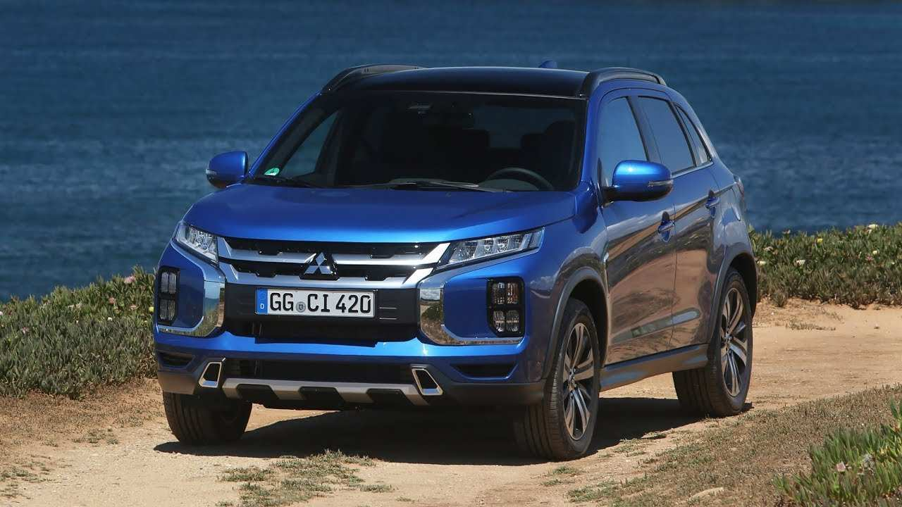 57 A Mitsubishi Asx 2020 Video Performance And New Engine