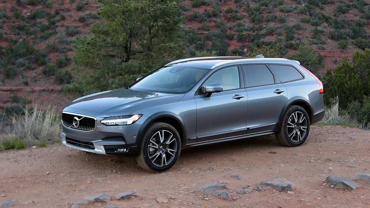 57 All New Volvo V90 Cross Country 2020 History