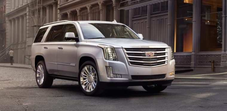 58 A 2020 Cadillac Escalade Ext Exterior And Interior