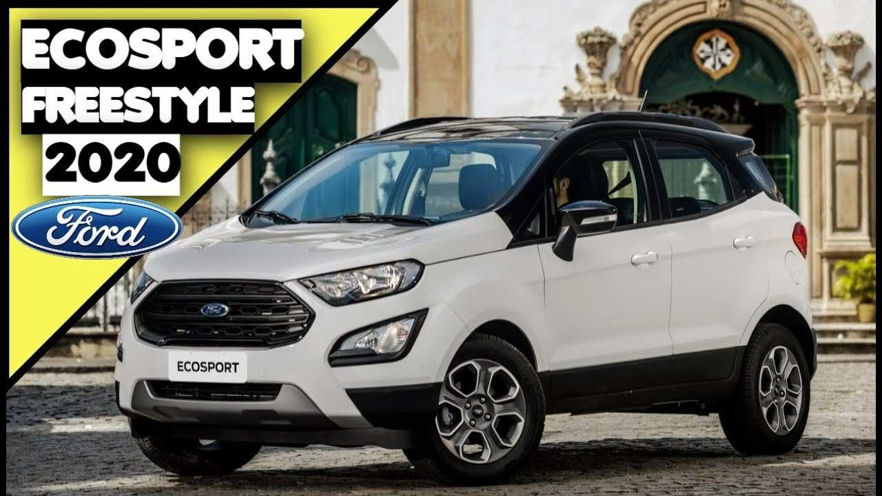 58 Best 2020 Ford Ecosport Price And Release Date