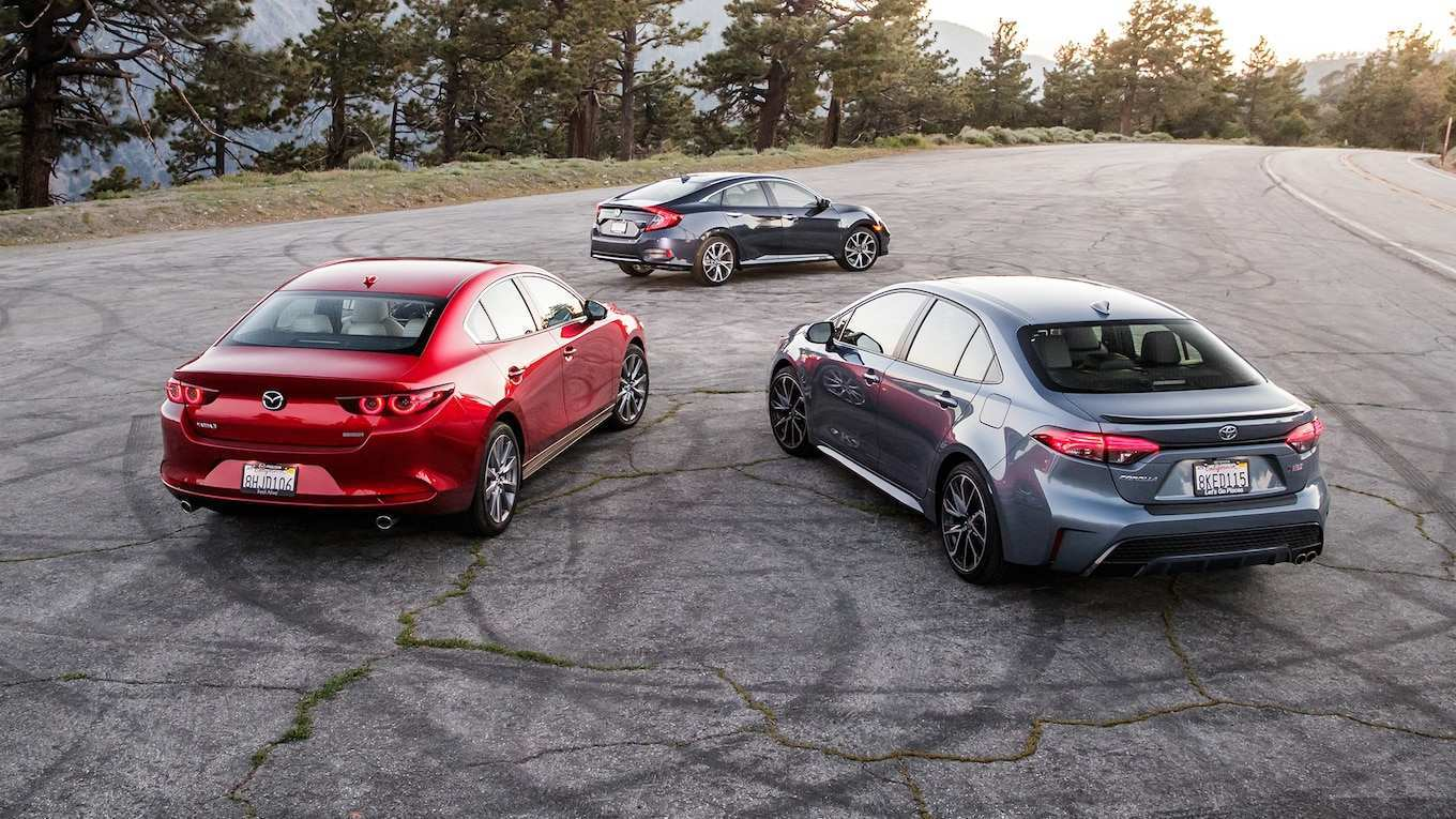 58 New Corolla 2020 Vs Mazda 3 Speed Test