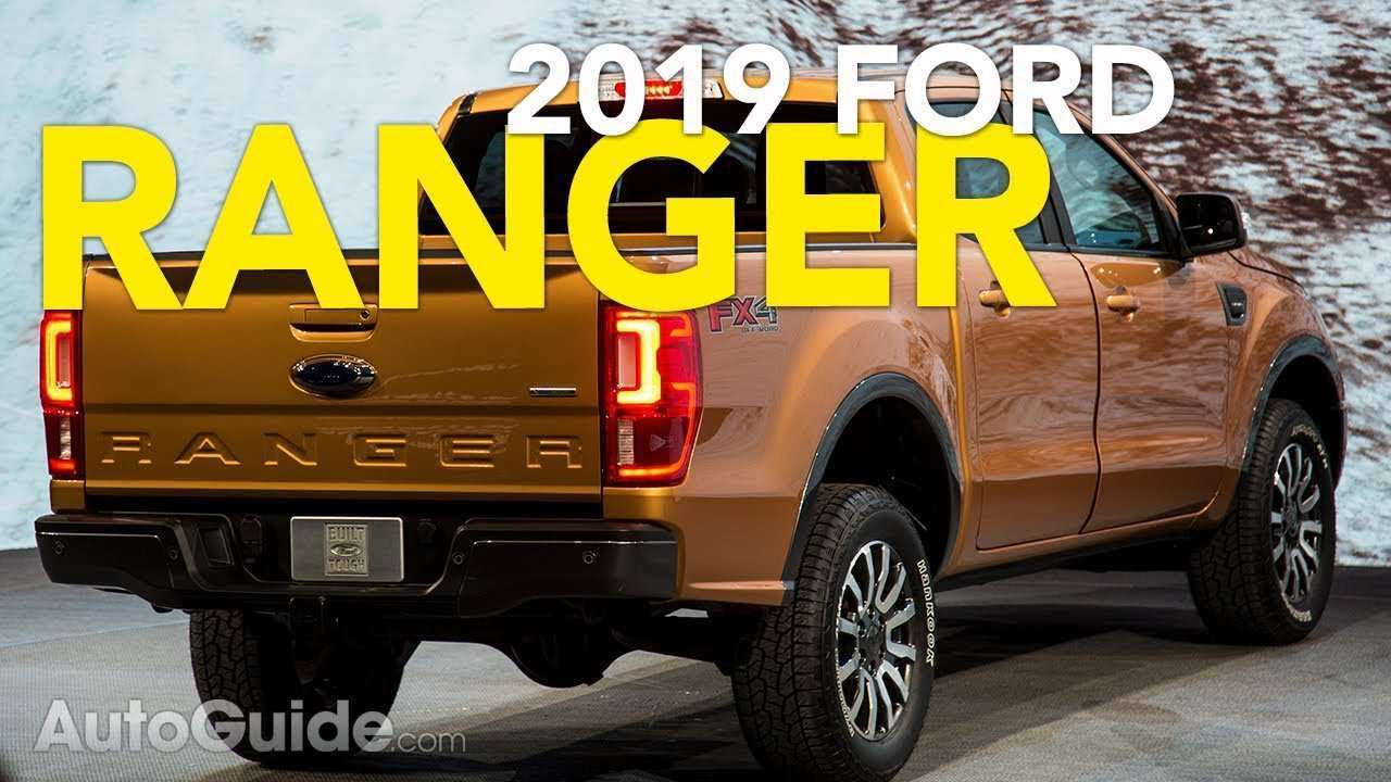 58 The 2019 Ford Ranger Auto Show New Model And Performance