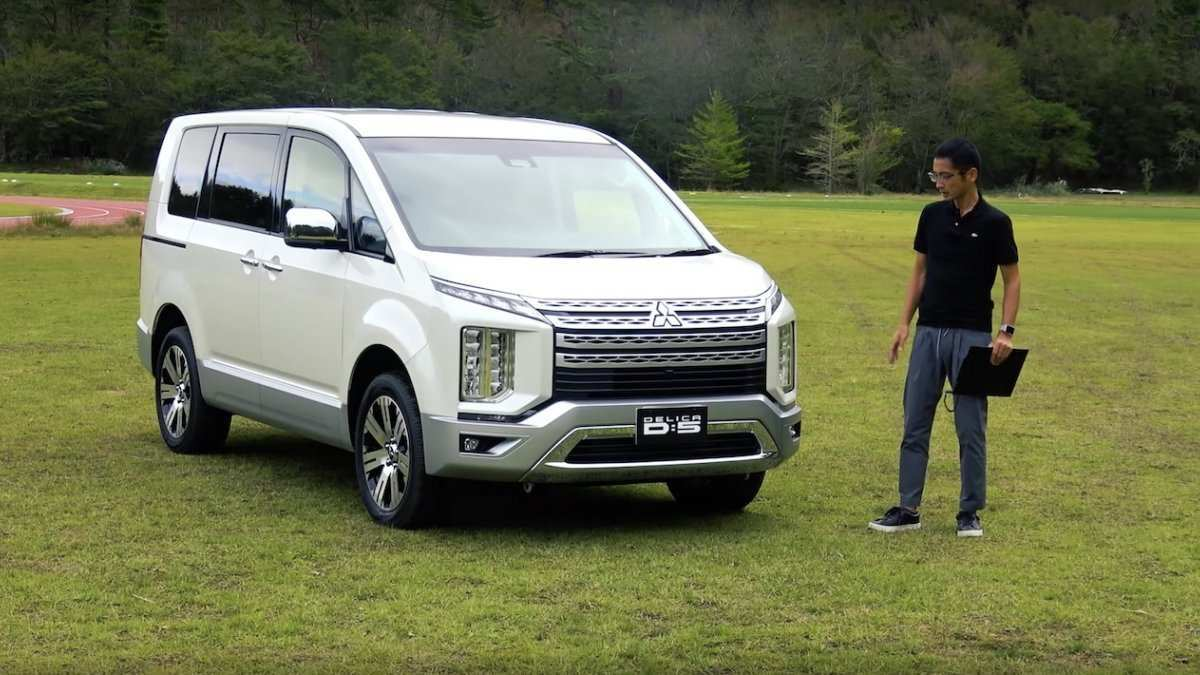 58 The Best 2019 Mitsubishi Delica Concept And Review