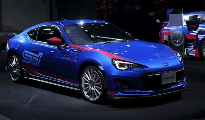 58 The Best 2019 Subaru Brz Sti Specs And Review
