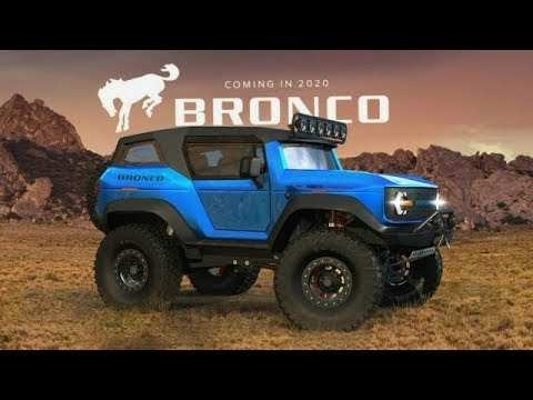 59 A 2020 Ford Bronco Youtube Exterior