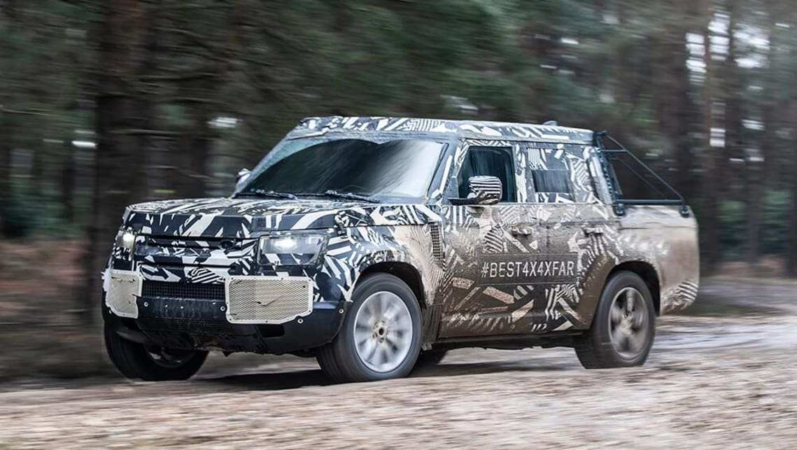 60 The 2019 Land Rover Defender Ute Rumors