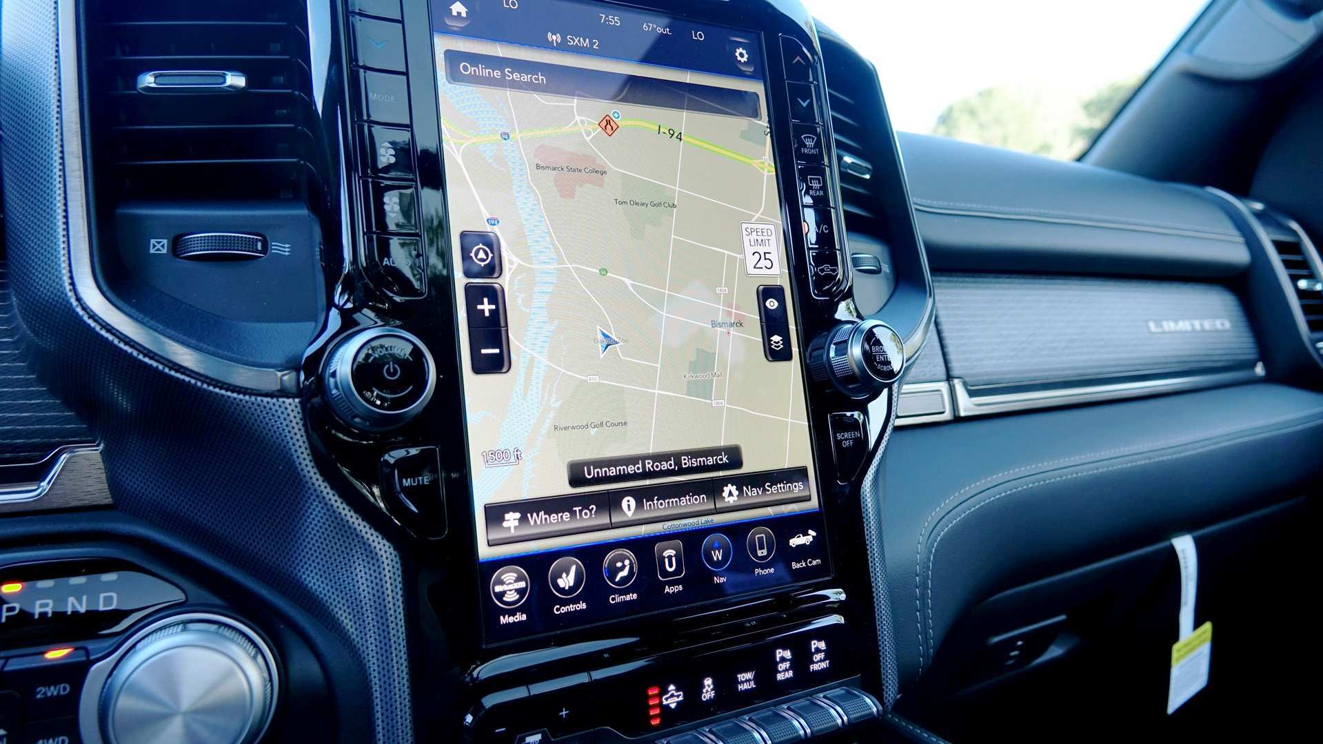61 A 2019 Dodge Touch Screen Concept
