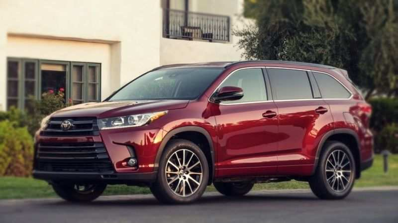 61 A 2020 Toyota Highlander Concept Price Design And Review