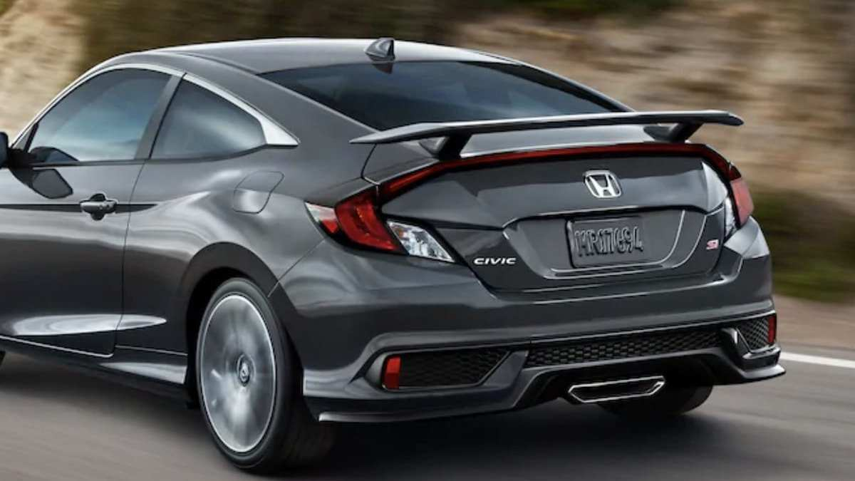 61 A Honda Si 2020 Release Date And Concept