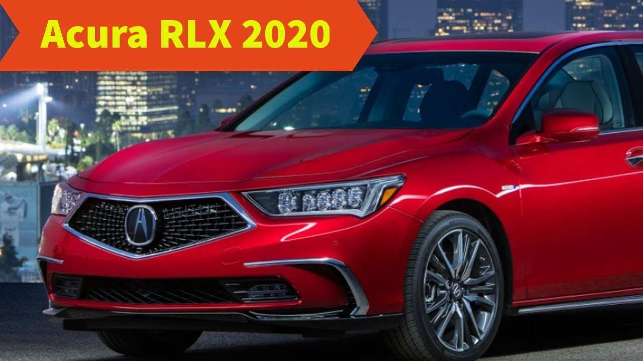 62 All New 2020 Acura Rlx Release Date First Drive