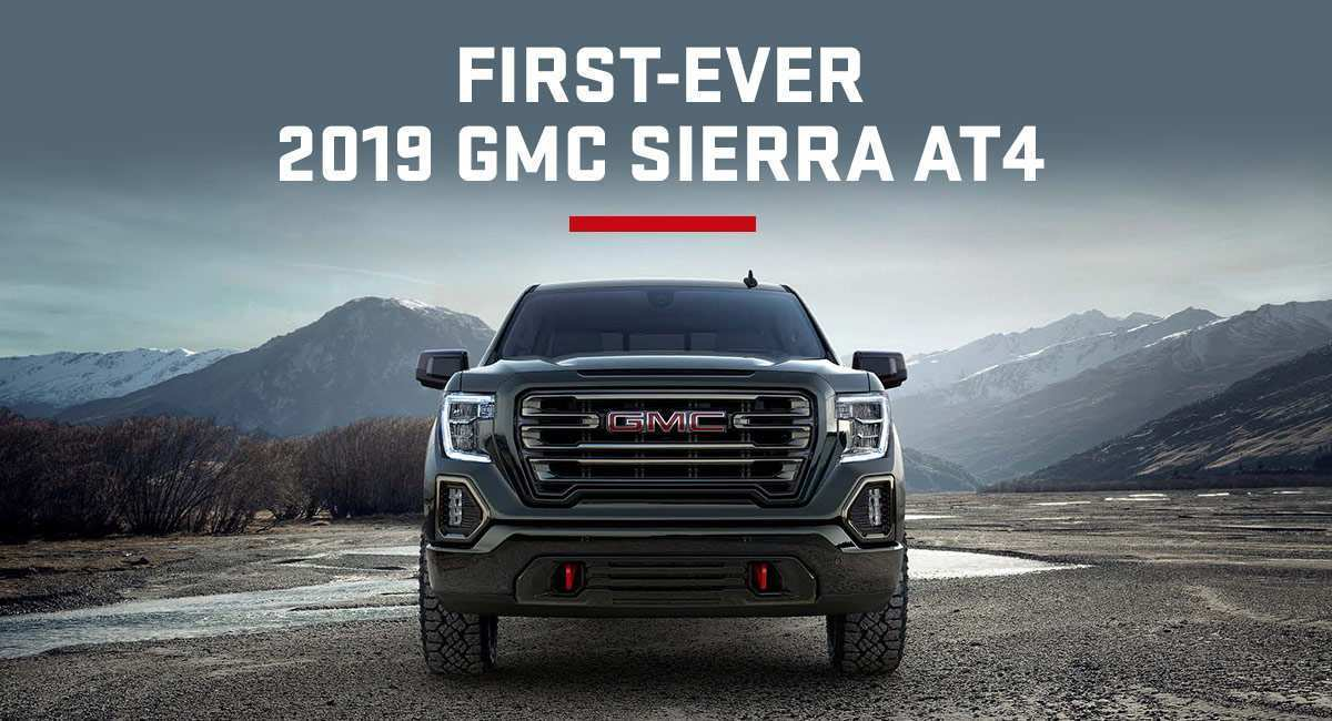 62 New 2019 Gmc Sierra Release Date Pricing