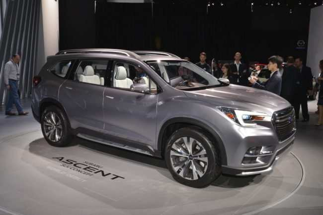 62 The 2019 Subaru Ascent Release Date Photos