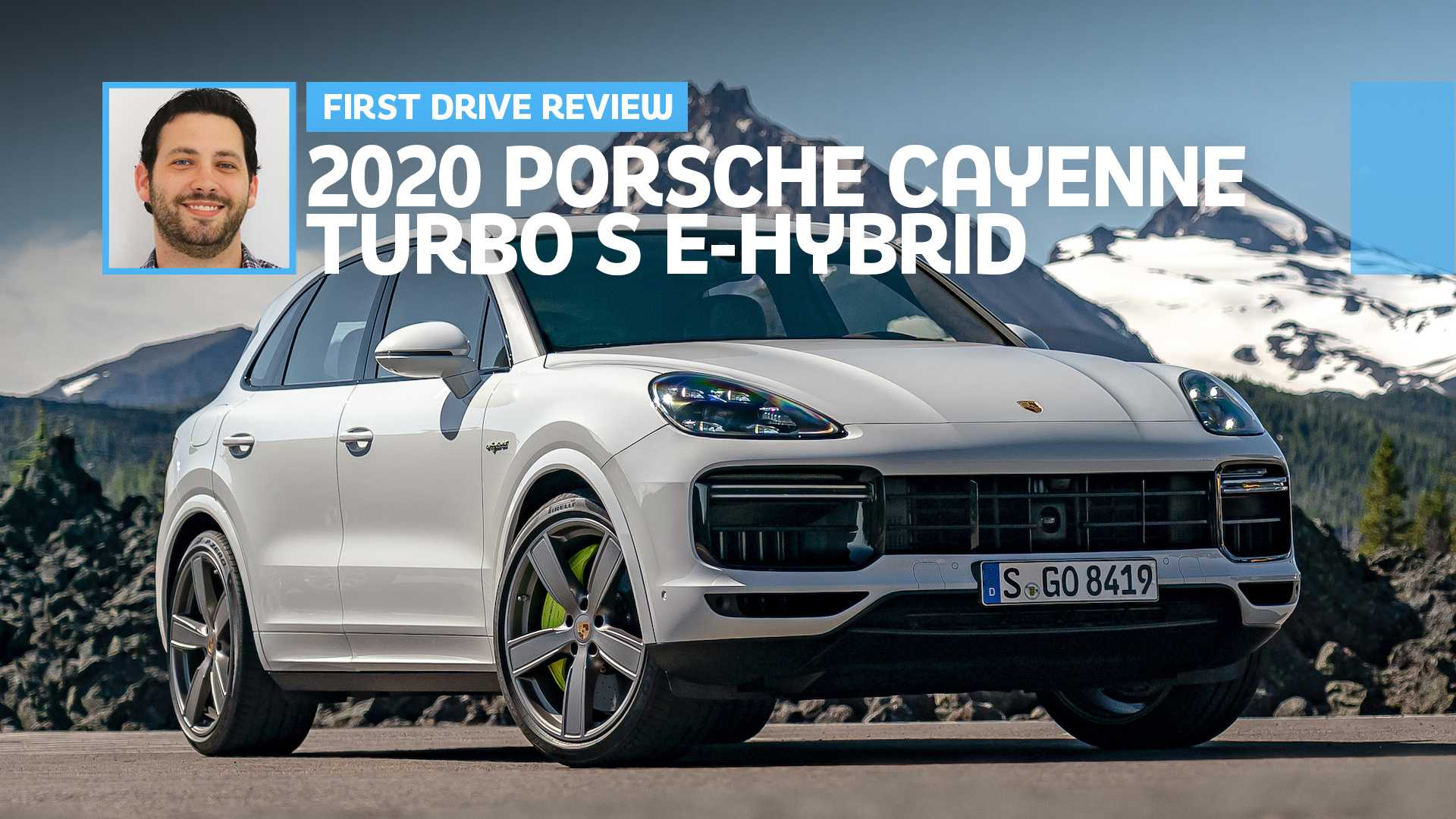 62 The 2020 Porsche Cayenne Turbo S Images