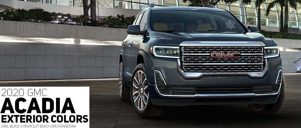 62 The New Gmc Acadia 2020 Exterior And Interior