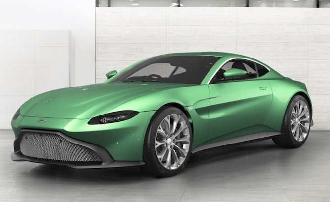 63 A 2019 Aston Martin Vantage Configurator New Model And Performance