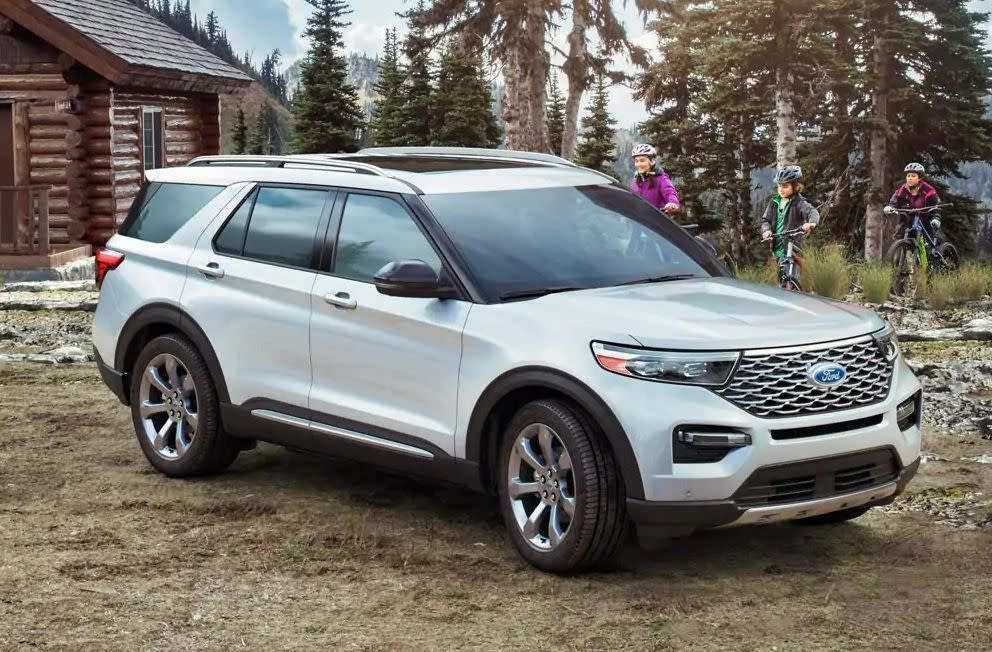 63 All New Ford Aviator 2020 Photos