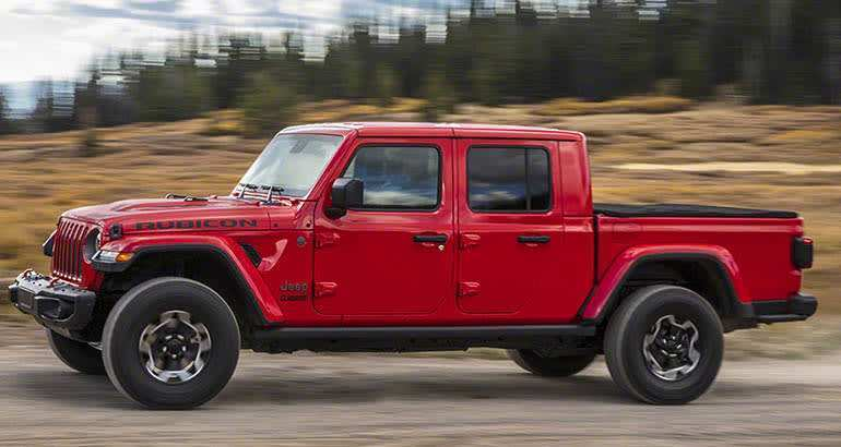 63 New 2020 Jeep Wrangler Pickup Truck Exterior