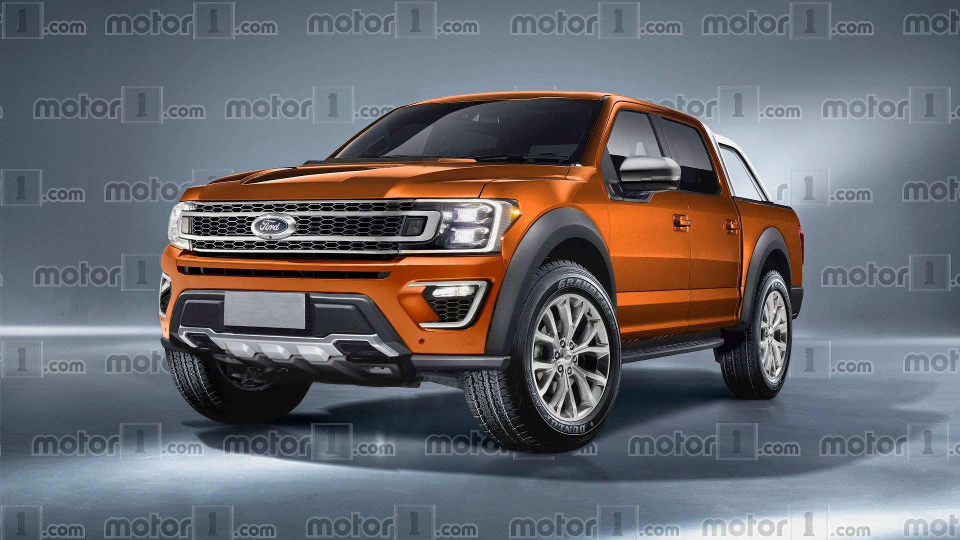 64 All New F2019 Ford Ranger Exterior