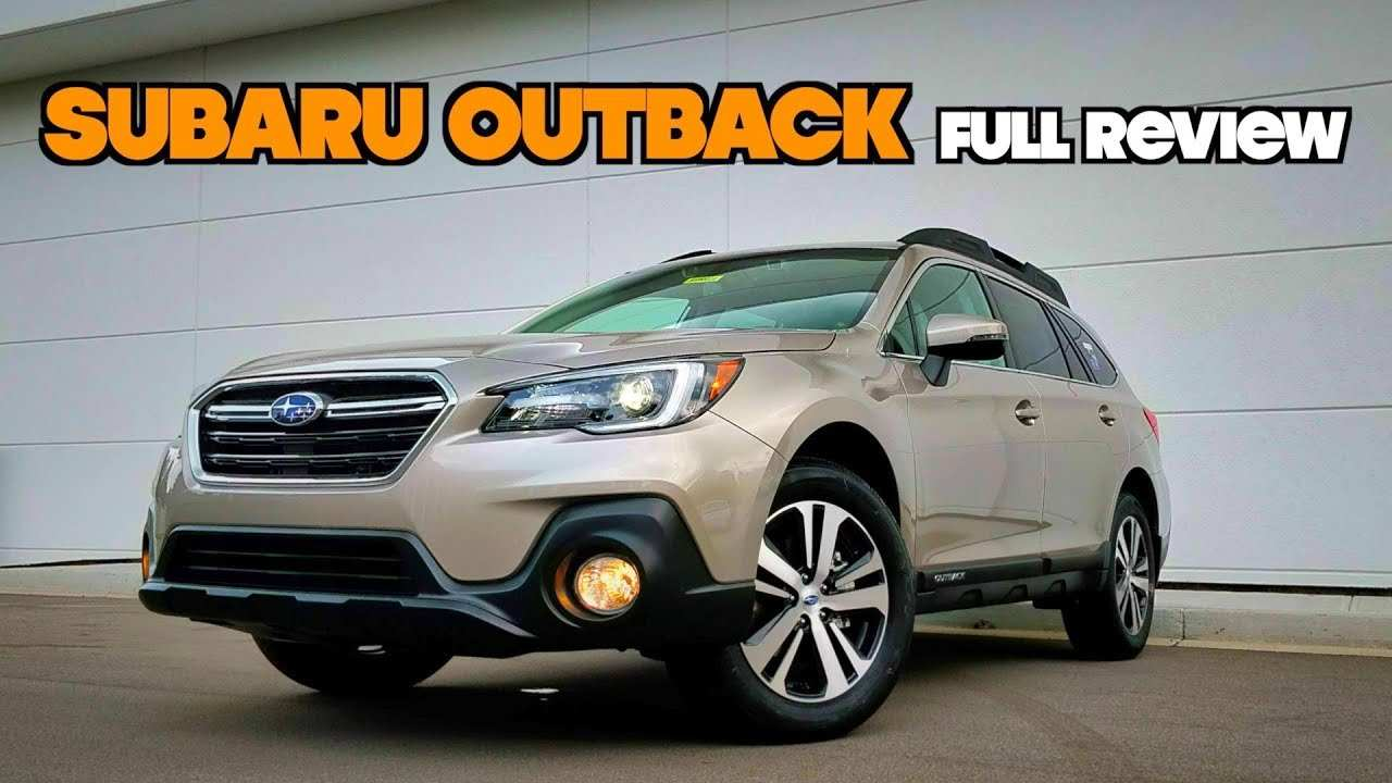 64 The 2019 Subaru Outback Changes Concept