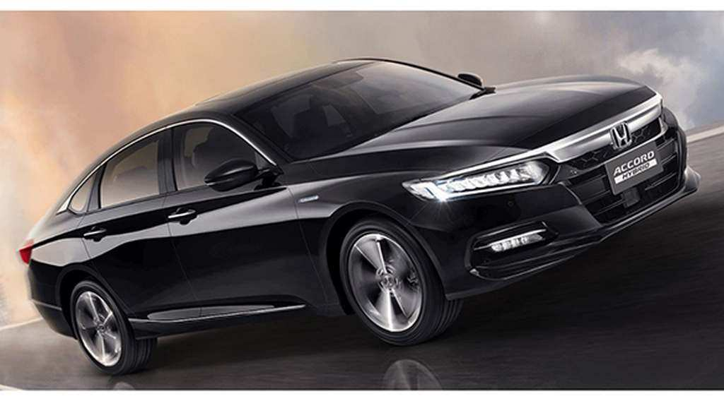 64 The 2020 Honda Accord Sedan Spy Shoot
