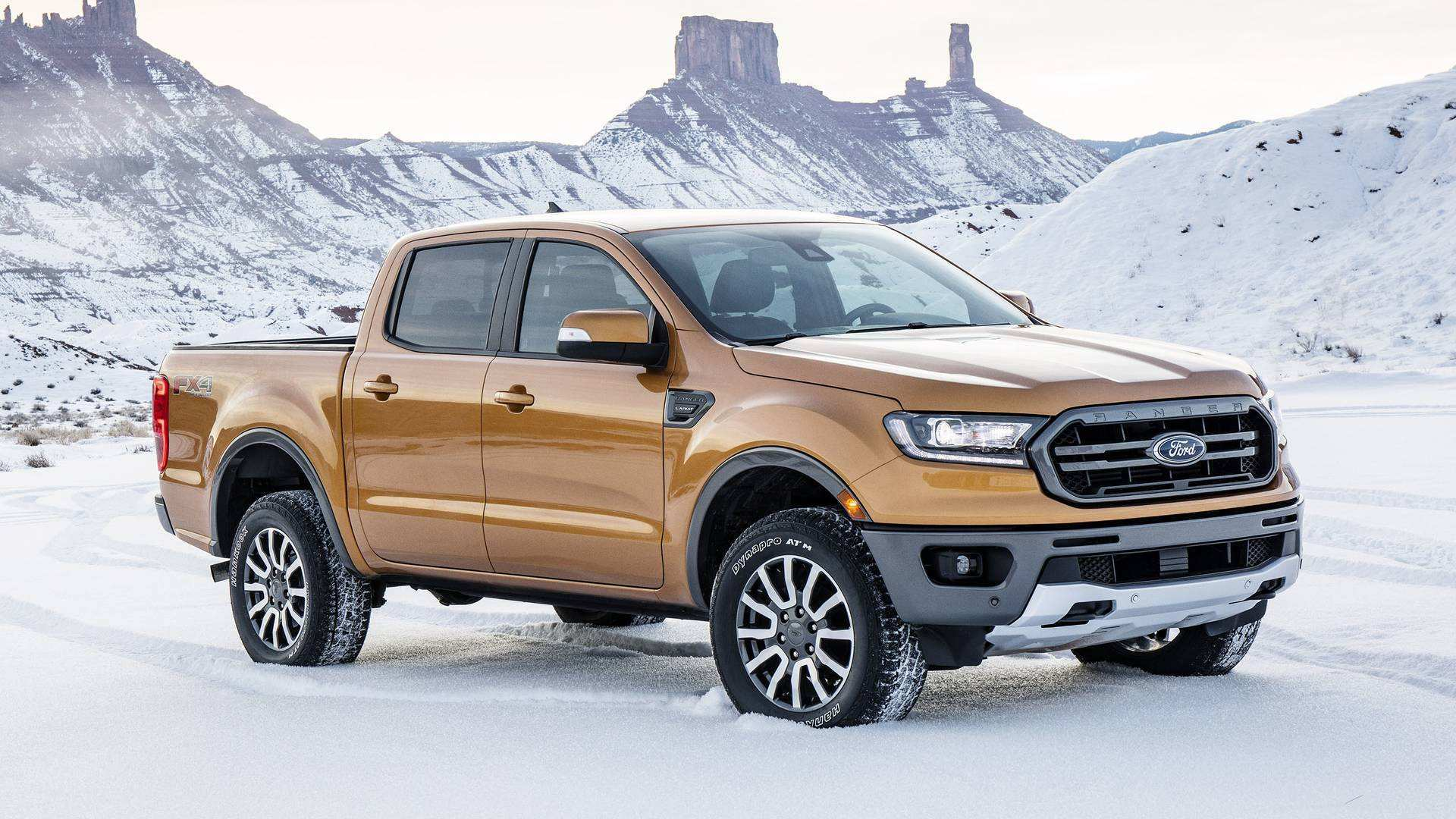 65 A 2019 Usa Ford Ranger First Drive