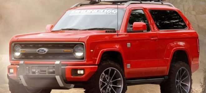 65 A 2020 Orange Ford Bronco Specs