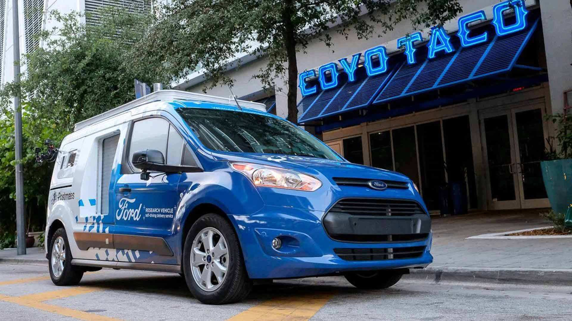 65 A Ford 2020 Driverless Images
