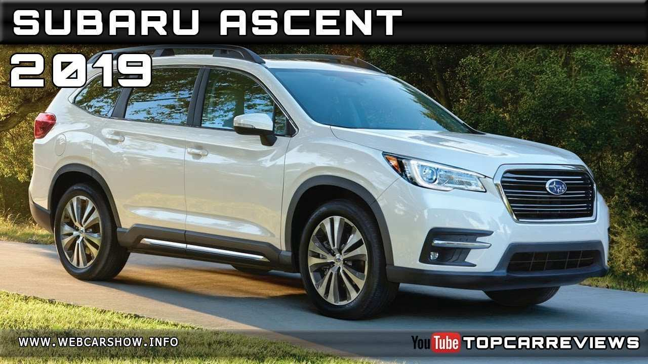 65 All New 2019 Subaru Ascent Release Date Interior
