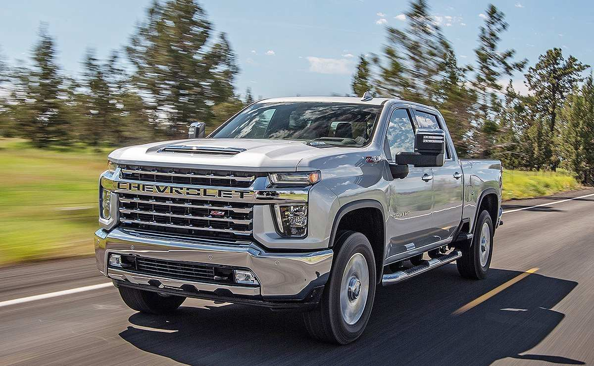 65 All New 2020 Chevrolet Silverado Concept