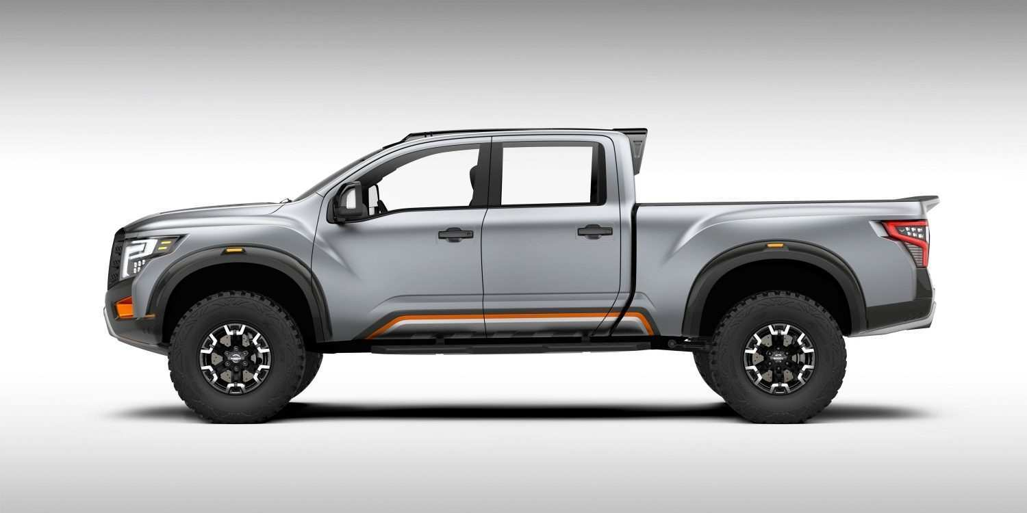 65 All New 2020 Nissan Titan Warrior Price New Review