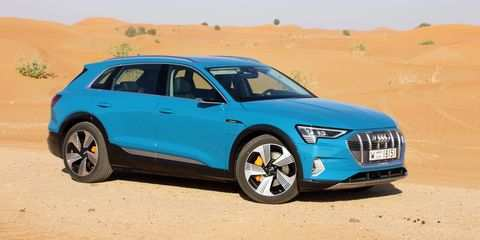 65 The Best 2019 Audi E Tron Quattro Release Date Exterior And Interior