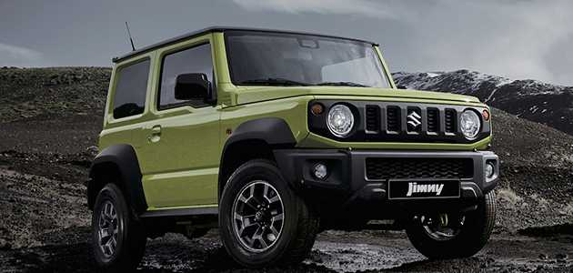 66 New 2019 Suzuki Jimny Concept And Review
