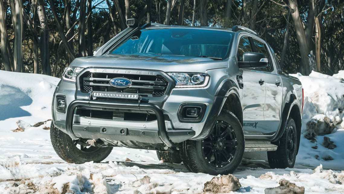 67 A 2020 Ford Ranger Wildtrak Ratings