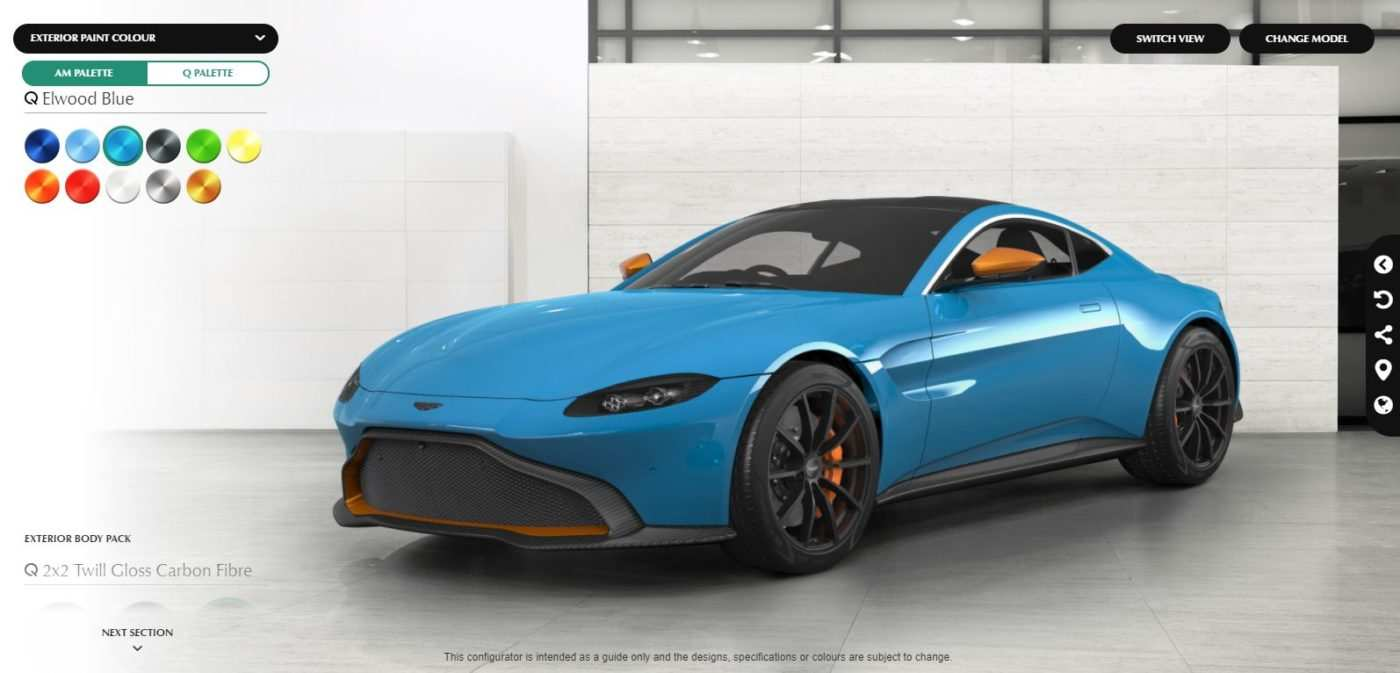 67 The Best 2019 Aston Martin Vantage Configurator Interior