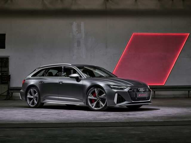 68 A 2020 Audi A6 Wagon Picture