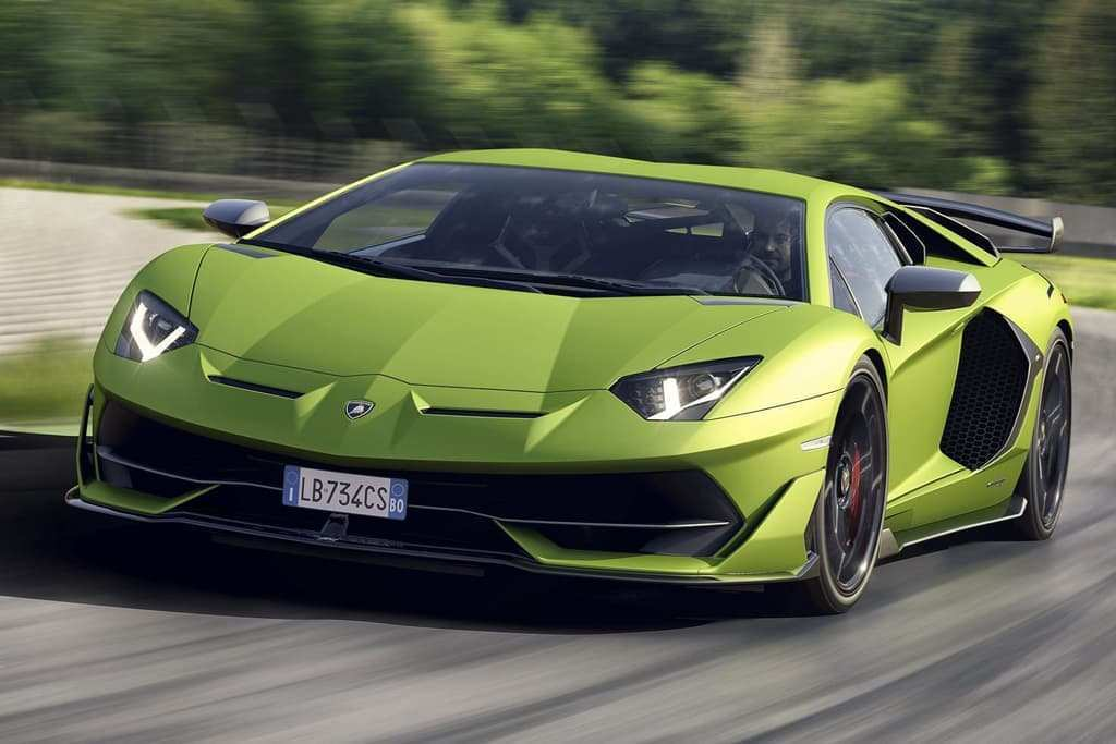 69 A 2020 Lamborghini Aventador Ratings