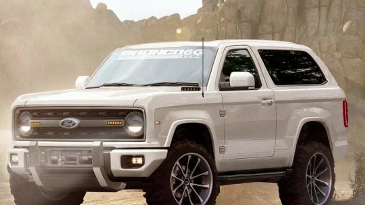 70 The Best 2020 Ford Bronco Msrp Release