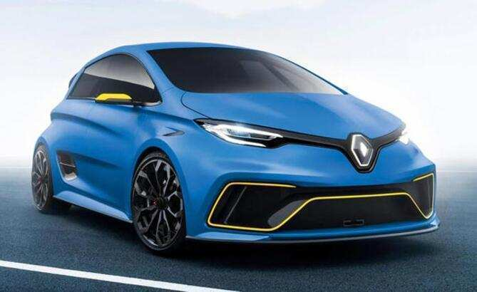 72 New Renault Zoe 2020 Price and Review