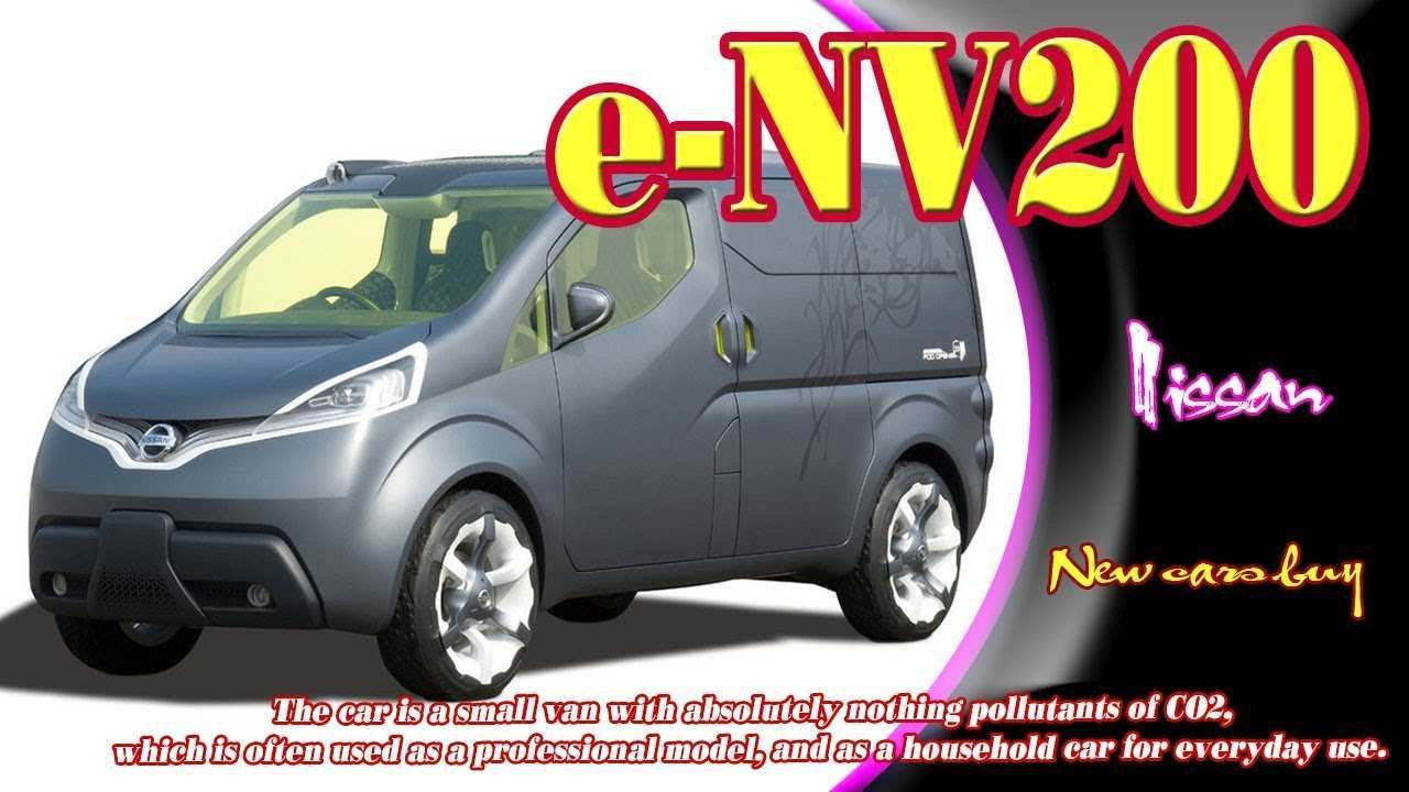 73 A Nissan E Nv200 Evalia 2020 Review And Release Date