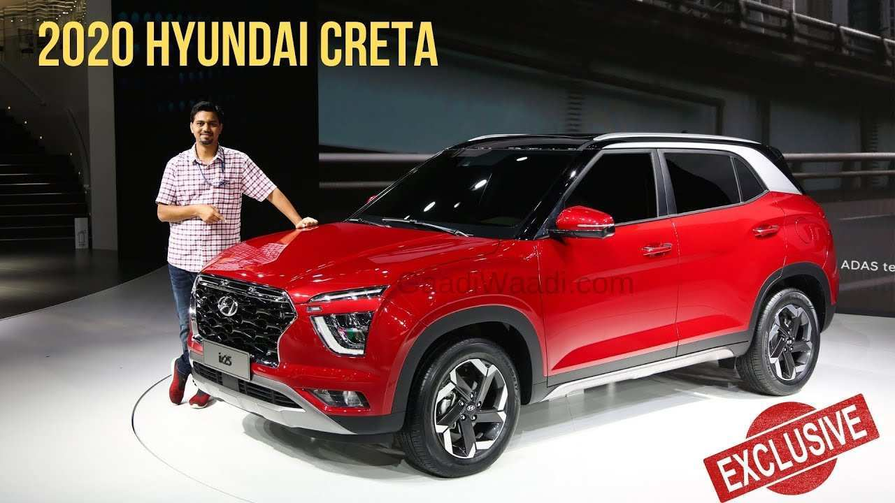 73 New Hyundai Creta New Model 2020 Spy Shoot