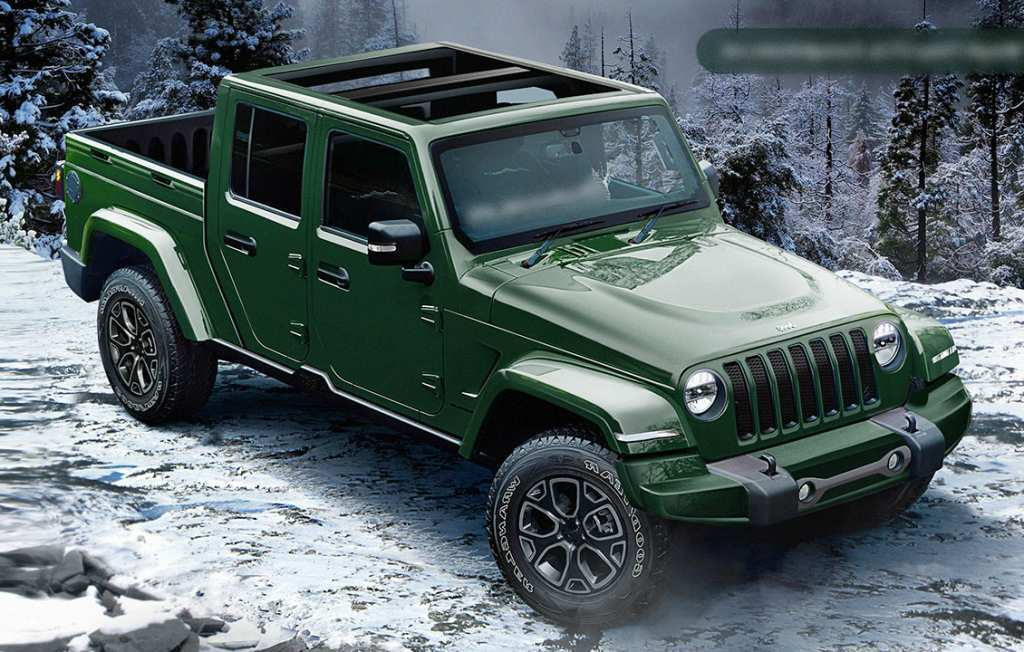 73 The Best 2020 Jeep Wrangler Pickup Truck Redesign And Review
