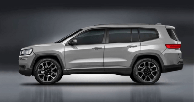74 A 2020 Jeep Grand Cherokee Spy Photos Overview