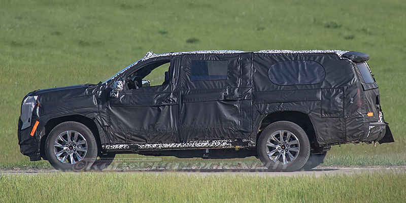 74 A Chevrolet Suburban 2020 Spy Shots Wallpaper
