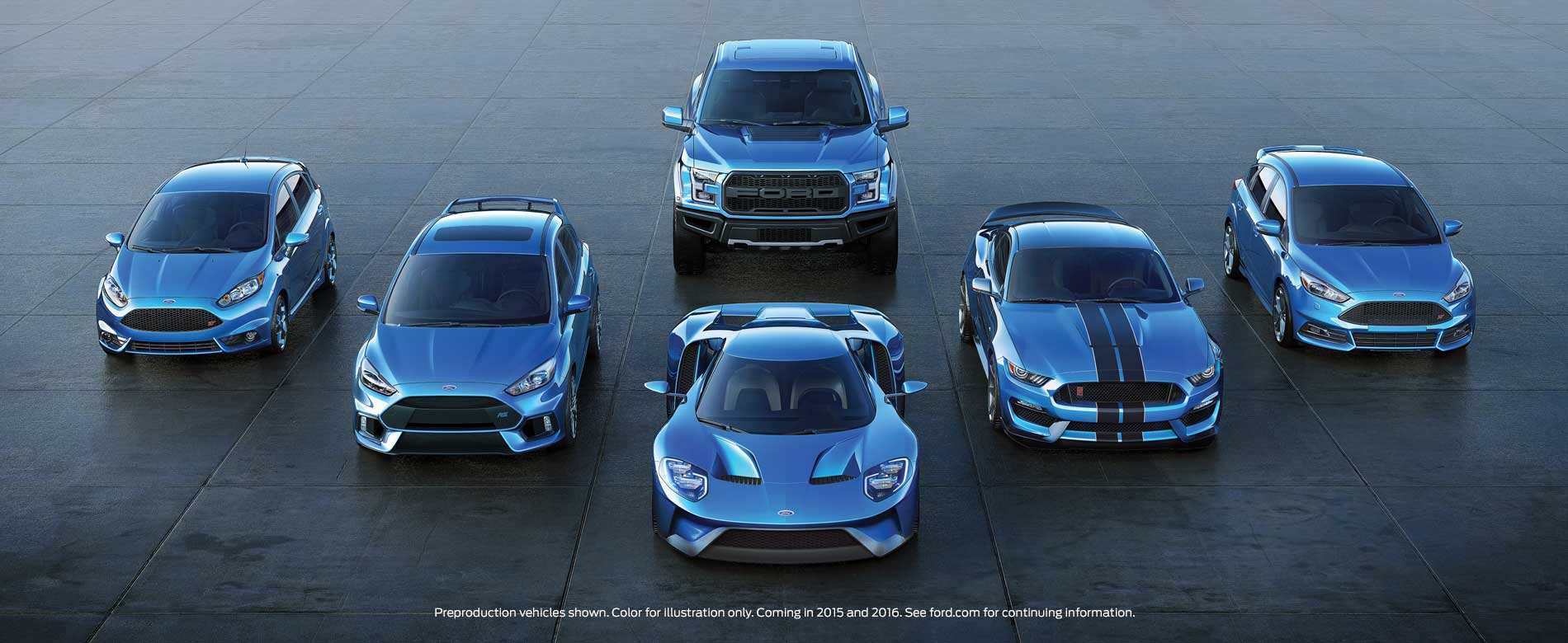 74 All New Ford Performance Vehicles By 2020 History